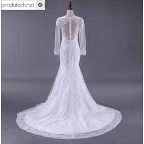 Vestido De Noiva Sereia - Temos Plus Size