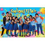 Painel Decorativo Festa Infantil Novela Chiquititas (mod1)