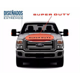 Super Duty Letras Parrilla Frontal Calcomanias