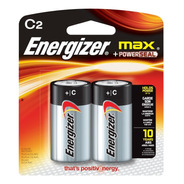 Pila Bateria Alcalina Energizer Max C Blister X2 Unidades