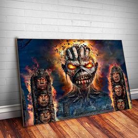 Placa Decorativa Iron Maiden 8 Rock Metal Mdf 3mm Quadro