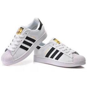 Liquidación! Zapatillas adidas Superstar 34 Al 44 En Caja!