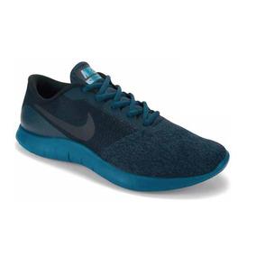 Tenis Para Dama Nike Color Azul Petroleo-negro Modelo 95401
