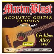 Encordado Guitarra Acústica Martin Blust 010 Xl 220 Leomusic