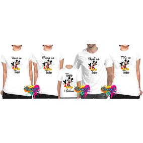 Kit 5 Pçs Camisa Personalizada Qualquer Tema Para Festa A4