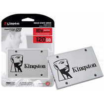 Hd Ssd 120 Gb Kingston Uv 400 10x Mais Rapido 100%original
