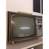 Tv Televisor Antigo Telefunken - Televisão Decorativa
