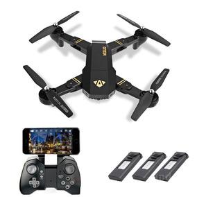 Drone Visuo Xs809hw Câmera Fpv De 2mp + 2 Baterias