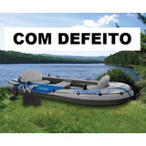 Bote Inflável Intex Excursion 5 * Claims N Mariner Seahawk