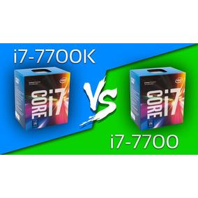 Procesador Core I7 7700k Lga 1151 Nuevos De Paquete !!