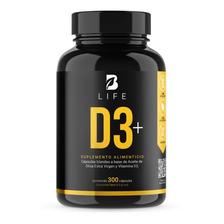 Vitamina D3 5000  Ui 300 Cápsulas  B Life