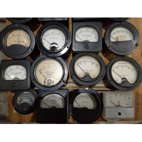 Instrumentos De Medición Antiguos Voltímetros, Amperímetros