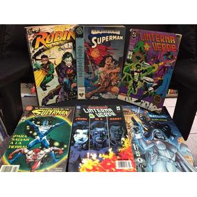Superman, Linterna Verde , Batgirl, Robin.