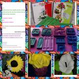 11moldes Tikas Frizador P/flores Rosa Marg. Cala Lirio Azuce