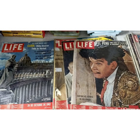 Raridade Revista Life Em Espanhol Raridade Década