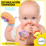 Pack De Medias Y Muñequeras De Estimulación Temprana, Bebés!