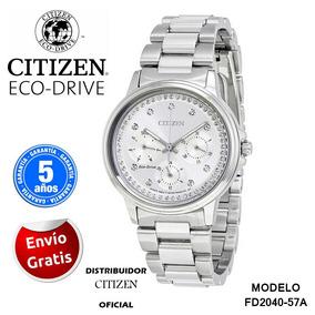Reloj Citizen Dama Fd2040-57a Ecodrive Original