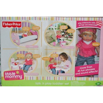 Fisher-price Little Mommy N Talk Set Juego Para Niños Peque