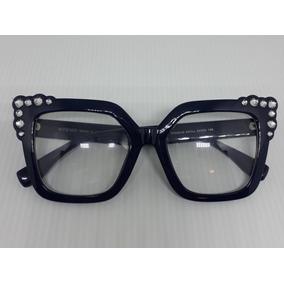 Óculos De Grau Quadrado Fendi - Óculos Armações no Mercado Livre Brasil 131810692b