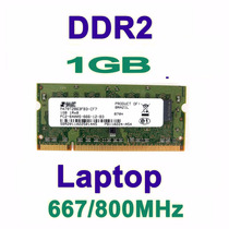 Lote 30 Pentes Memórias De 1 Gb Ddr2 Notebook Pc 5300/6400