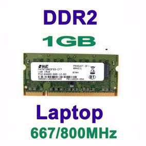 Lote 30 Pentes Memórias De 1 Gb Ddr2 Notebook Pc 5300/6400