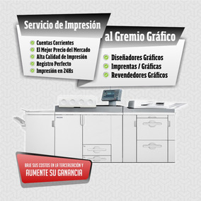 Pack X250 A3+ Impresiones Al Gremio Grafico