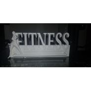 Medallero Fitness 3d