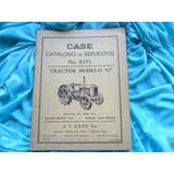 Tractor Case Catalogo Repuestos Manual Despiece Antiguo