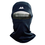 Mountain Made Balaclava Thermal Máscara Poliéster Fleece, N