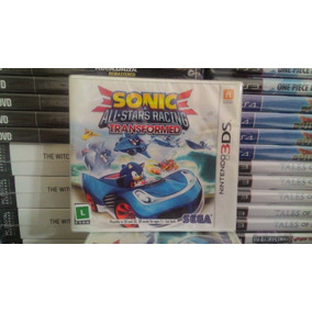 d907d926ab4 Sonic All Star Racing Transformed 3ds Nintendo Jogo Lacrado