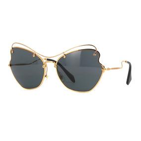 d97e7d40e05b5 Óculos Miu Miu Quadrado Acompanha Estojo Miu Miu - Óculos no Mercado ...