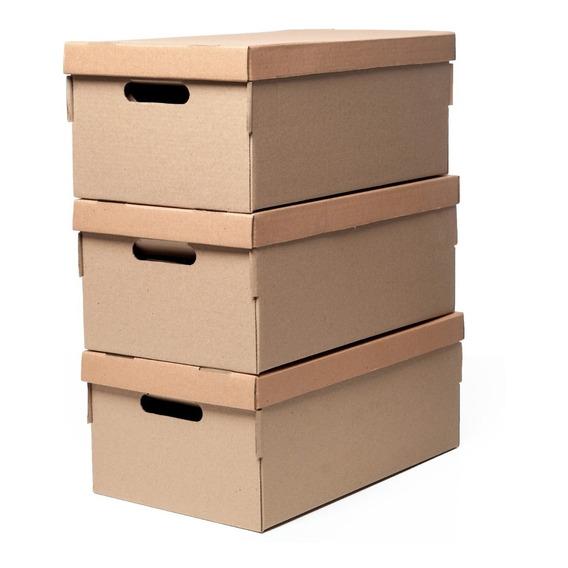 Cajas De Carton Para Guardar Organize? 50x29x20cm Set X 3
