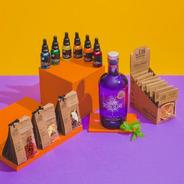 Combo Gin Torquay + Box Citrus, 3 Kits E 6 Xaropes Begin