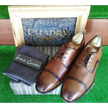 Zapato Franco Cuadra D40bvbv Becerro Maple