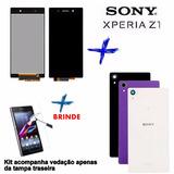 Kit Display Completo Sony Z1 C6903 C6943 + Tampa + Película