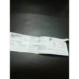 Boleto Ticket Pasaje Ferry