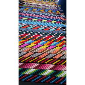 Pulseras De Hilo Encerado Artesanales - Modelo: Diagonal