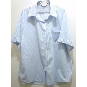 Camisa Rayada Talle Grande Mujer Camisas 8 10