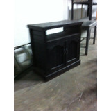 Mueble Madera Rustico Para Tv