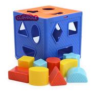 Cubo Didáctico Formas Encastre Primera Infancia Duravit