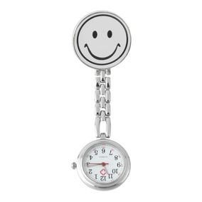 Relógio De Bolso Medicina Enfermagem Branco