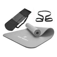 Colchoneta Mat Yoga Caucho Nbr 10mm Ranbak 732 Bolso+correa