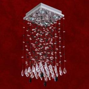 Lustre Plafon Cristal Iluminacao Parede Sala 2224-5-ls Mr
