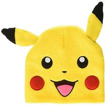 Bioworld Pokemon Pikachu Cara Grande Paño Grueso Y Suave De