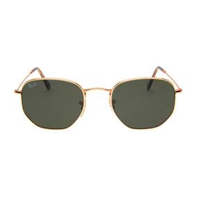 9fcea0242633b Culos Ray Ban Hexagonal Verde De Sol - Óculos De Sol no Mercado ...