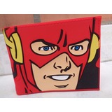Billetera Flash Dc Heroes Originals Goma Y Cuerina