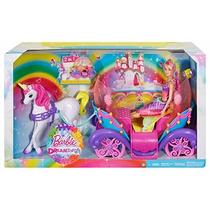 Oferta Barbie Princesa En Carruaje Con Caballo