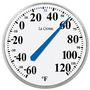 Lacrosse 104-114 Round Thermometer14