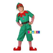 Disfraces Navidad Pastorela Duende Duenda Santa Claus Nieve
