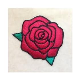 parches de rosas para vans